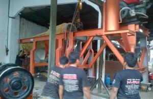 Persiapan Pengiriman Mesin Stone Crusher