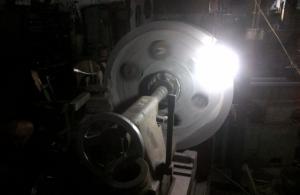Proses Pembuatan Pulley atau Roda Gila untuk Stone Crusher