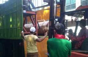 Pengiriman Stone Crusher ke Luar Jawa