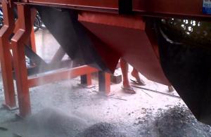 Video pengujian mesin pemecah batu