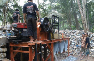 Video pengujian mesin stone crusher